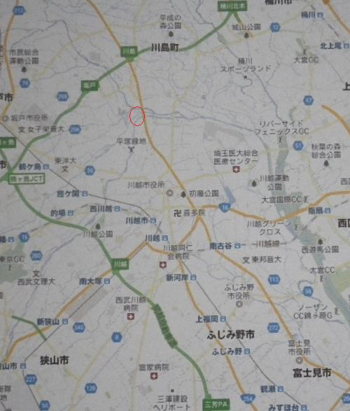 2012.2.22展覧会場付近の地図