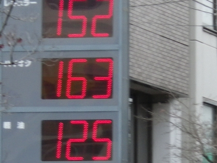 2012.3.8 ガソリン価格