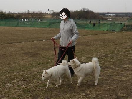 2012.3.3 一緒に歩こう