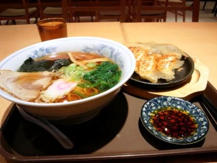 2012.3.24 白河ラーメン&餃子セット