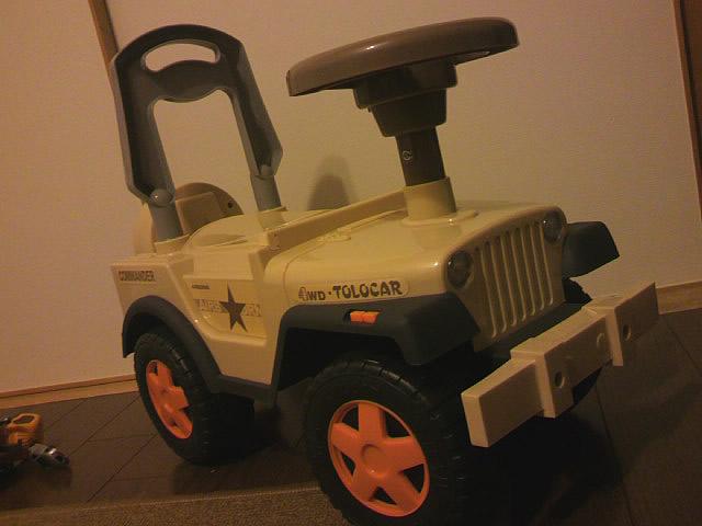 子供用ジープの乗用玩具