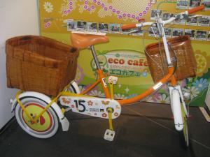 大塚さんが乗って走った自転車?