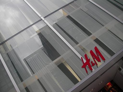 H&M 銀座