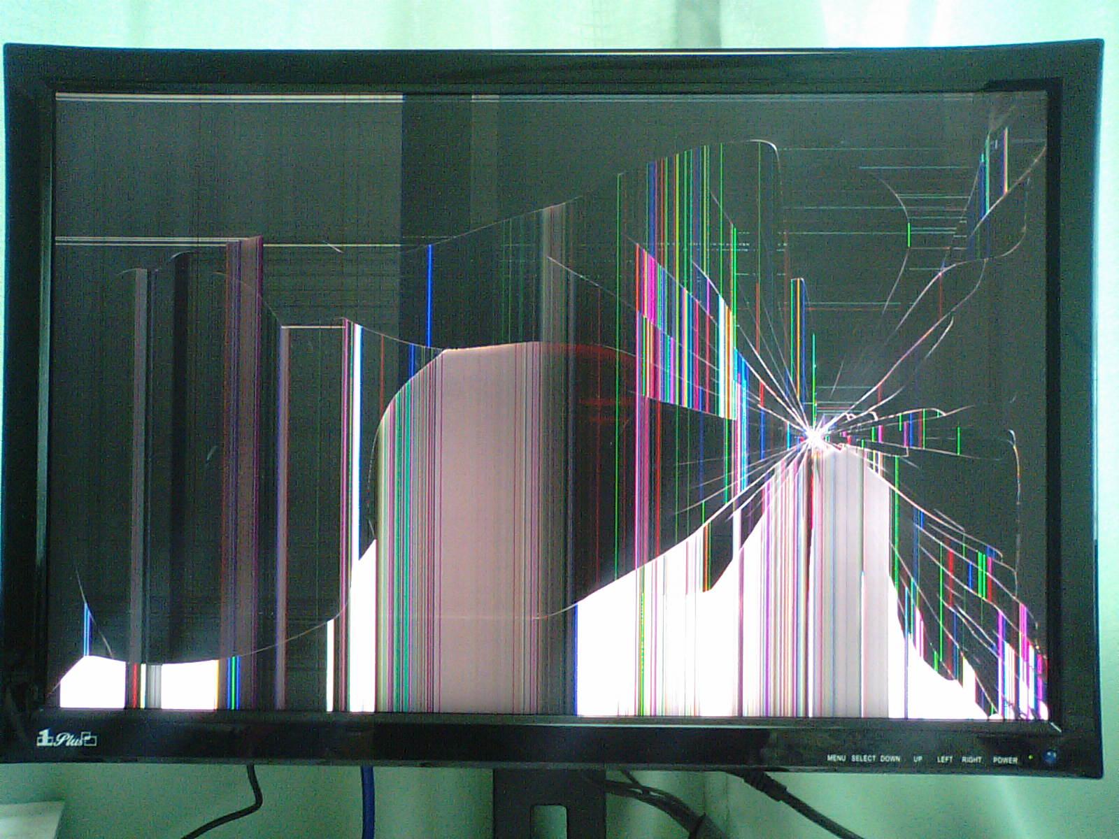 【まるで絵画】壊れた液晶画面がもはやアート【画像集】