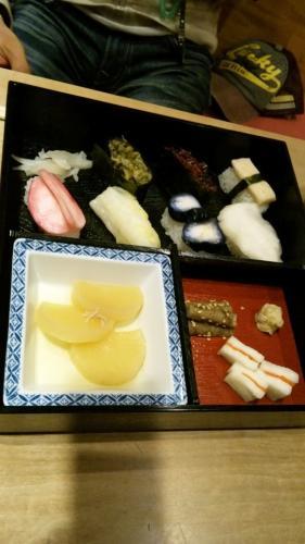 漬物の寿司
