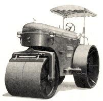 酒井重工業 マカダムローラーKM型