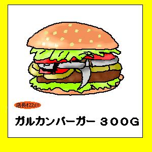 ガルカンバーガー