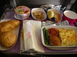 タイ航空機内食帰り