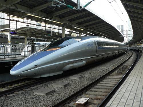 500系のぞみ東京駅