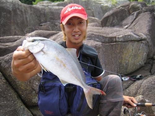 2008.8.24熊野ライトショアジギング