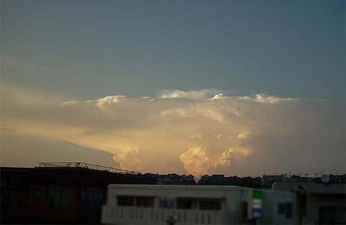 20070820夕焼け雲大②