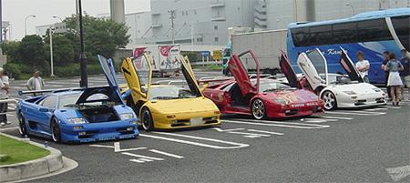 20060724フェラーリ軍団
