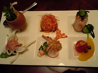 「前菜」オーベルジュ ア・マ・ファソン(大分)