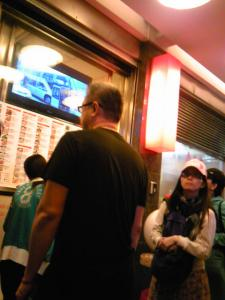 「お店の前」鼎泰豊(台湾)