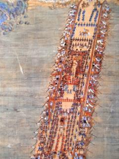 漢江を渡るために作った 船の橋 絵図 (水原華城博物館 文化室)