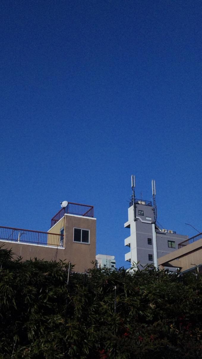 BLUE SKY_20110128