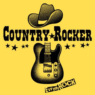 Country Rocker ロックTシャツ