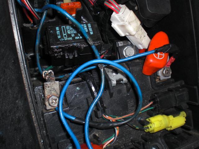 TN配線修理 (2)