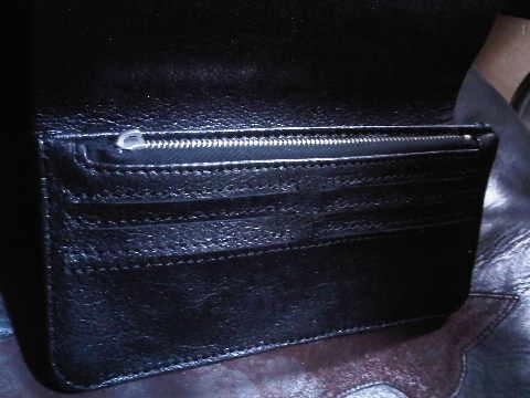 baffaloskin wallet inner