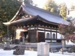 恵林寺の一角