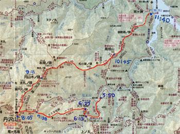 丹沢三峰線