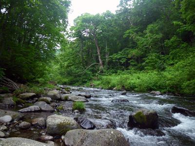 初夏の雑魚川