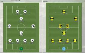 HSV 対 Dresden (プレビュー_ ラインナップ)
