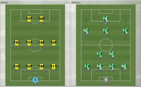 Dresden 対 Wolfsburg (プレビュー_ ラインナップ)