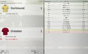 Dortmund 対 Dresden (分割画面)-4