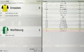 Dresden 対 Wolfsburg (分割画面)-4