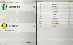Wolfsburg 対 Dresden (分割画面)-3