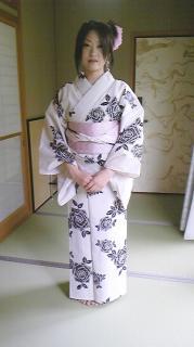 西田 浴衣