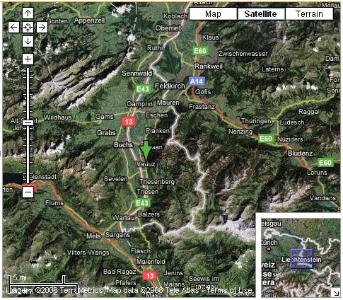 map_Vaduz