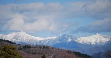 11・山脈雪化粧