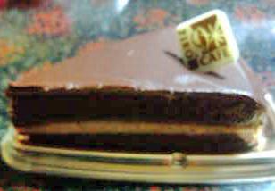 生チョコ&生キャラメルのケーキ090709