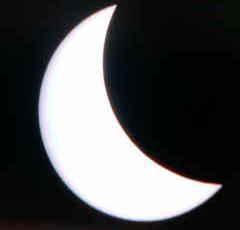 テレビの皆既日食090723