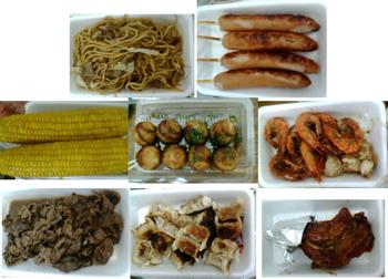 お祭りの食べ物いろいろ090727