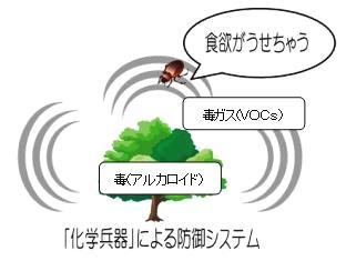 植物の防御システム
