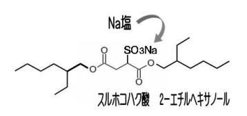 2EH-4 スルホコハク酸ジエチルヘキシルNa