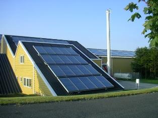 太陽熱温水システム