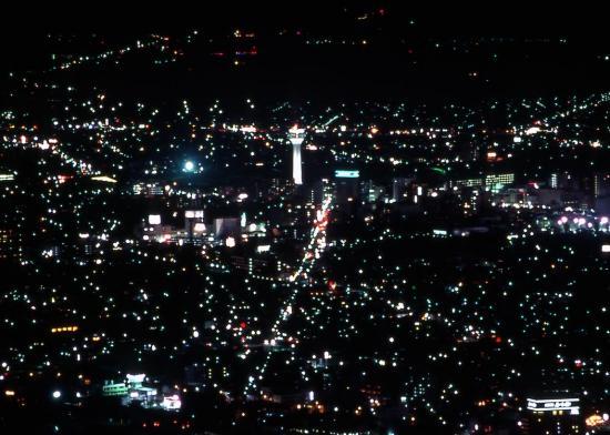 函館夜景(五稜郭周辺1)