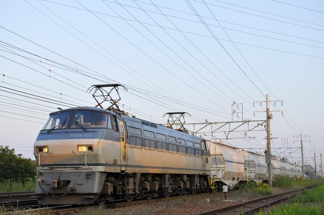 5580レ EF66-133号機