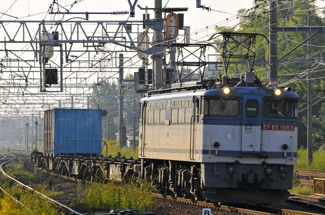1151レ EF65-1063号機