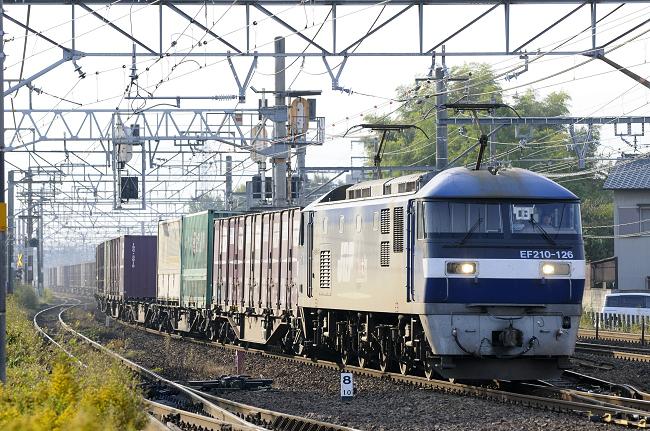 1057レ EF210-126号機