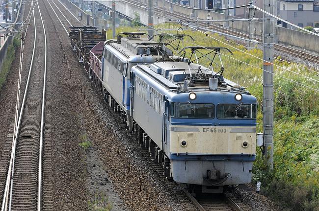8865レ EF65-103号機