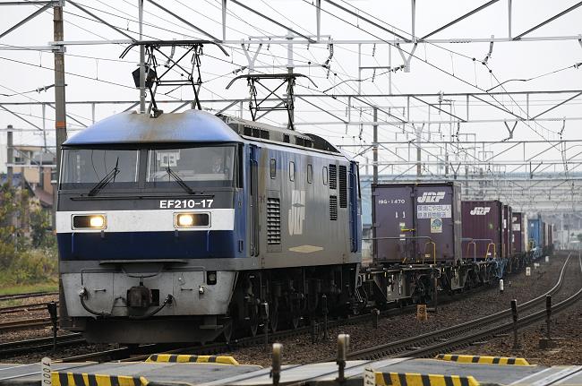 1057レ EF210-17号機