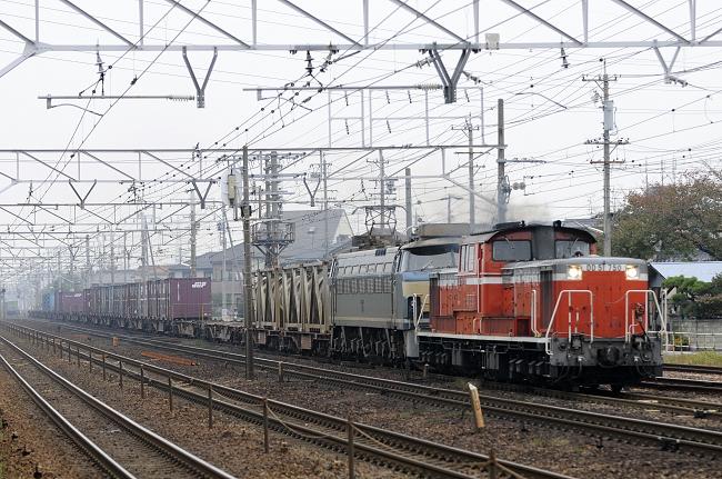 82レ DD51-750+EF66-54