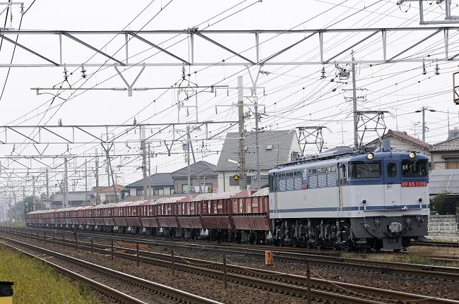 5780レ EF65-1139号機