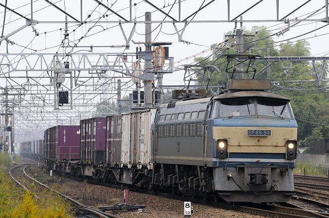 2071レ EF66-54号機