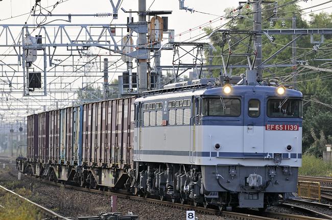 1151レ EF65-1139号機